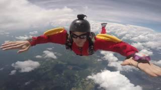 AFF level 5 Skydive jump.