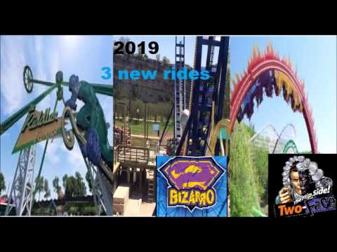 Six Flags New Rides 2020 Six Flags Mexico new atraccions 2017 2020   YouTube