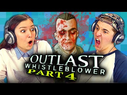 DEATH DO US PART - OUTLAST: Whistleblower - Part 4 (REACT: Gaming)