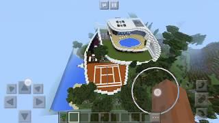Como colocar mapa de cidade ou casas modernas no minecraft pe