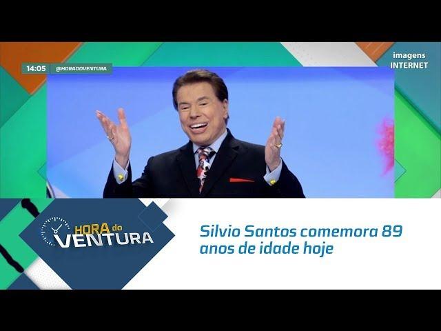 Silvio Santos comemora 89 anos de idade hoje  - Bloco 01