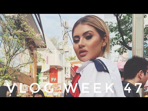 VLOG WEEK 47 - TOKYO WITH YSL BEAUTY | JAMIE GENEVIEVE