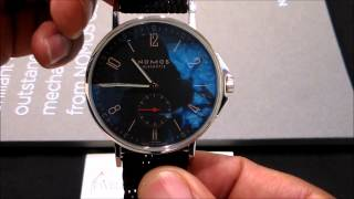 Nomos Glashutte Ahoi Atlantik Watch review