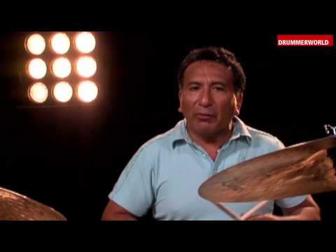 Alex Acuña:  Playing Merengue on a Classic Drumset (DRUM CLINIC)