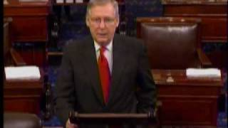 Sen. Mitch McConnell on Health Care Reform