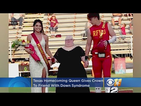 Brody - Homecoming Queen Gives Crown To Friend With Down Syndrome
