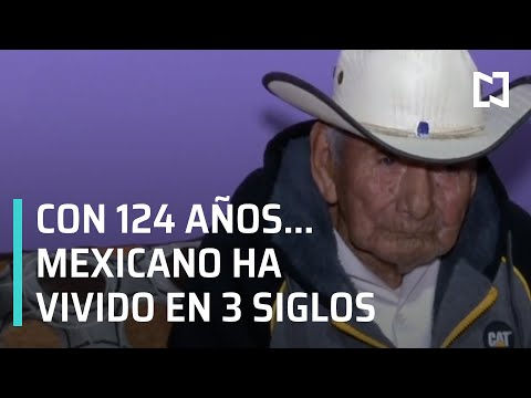 AMLO manda saludo a don Manuel García Hernández, mexicano de 124 años - En Punto