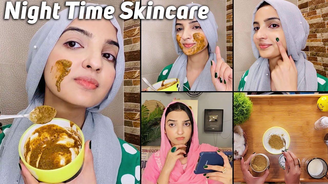 Organic Glow Night Time Skincare for Smooth & Flawless Skin