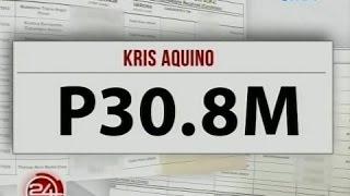 24 Oras: Duterte, nakatanggap ng P375-M campaign contributions