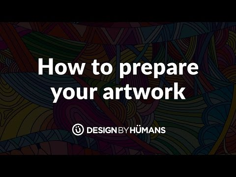 DesignByHumans Tutorial Series: Preparing Your Art