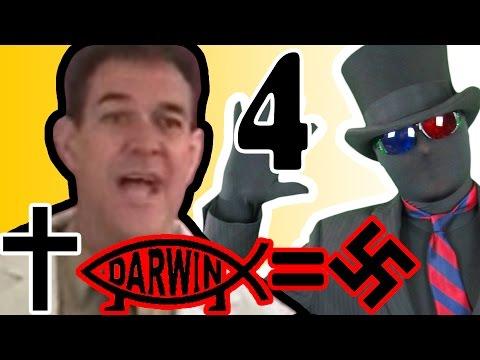 Hello, I'm a Scientist 4: Evolution = Murder + Hitler!