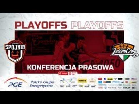 Konferencja prasowa po meczu PGE Spójnia Stargard -  Enea Zastal BC Zielona Góra