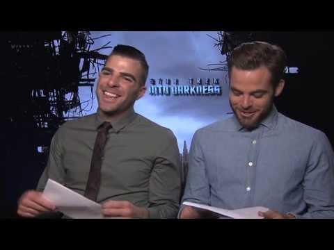 Star Trek Into Darkness Irish Class   Rang Gaeilge with Chris Pine and Zachary Quinto