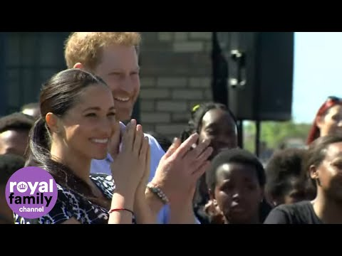 The Duke and Duchess of Sussex Begin Royal Tour in South Africa