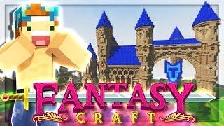 FINDING A MAGIC CASTLE! | EP 26 | FantasyCraft (Minecraft Modded Survival)