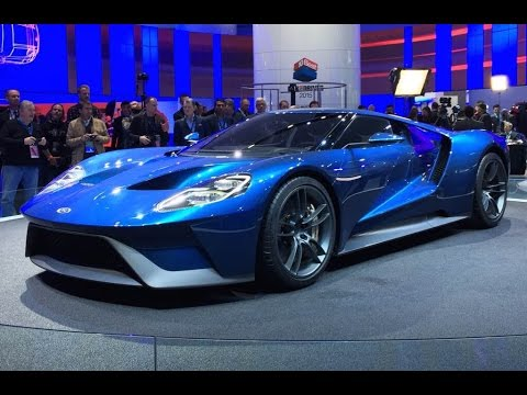 2017 Ford Gt 2015 Detroit Auto Show Fast Lane Daily