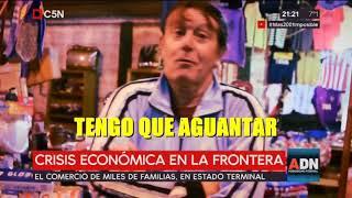 TOMAS MENDEZ - ADN - CRISIS ECONÓMICA EN LA FRONTERA
