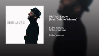 Watch Bebe Winans Did You Know video