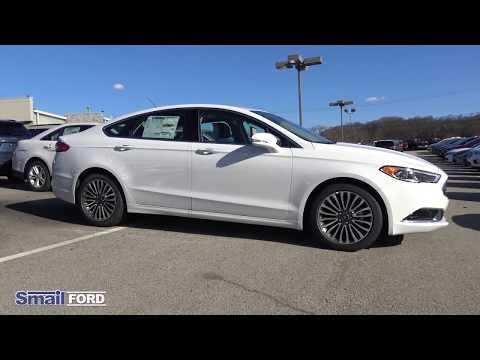 New 2018 Ford Fusion Se Sedan Ecoboost I 4 Engine With