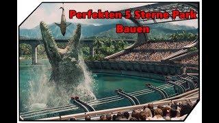 Jurassic World Evolution Perfekten 5 Sterne Park bauen Tutorial Guide Deutsch Ger