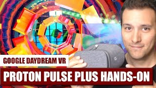 Best Arcade Game on Daydram VR? Proton Pulse Plus Hands-On Review!