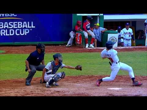 Highlights: Japan v USA – U-15 Baseball World Cup 2018