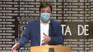 Extremadura solicitará al Gobierno el estado de alarma