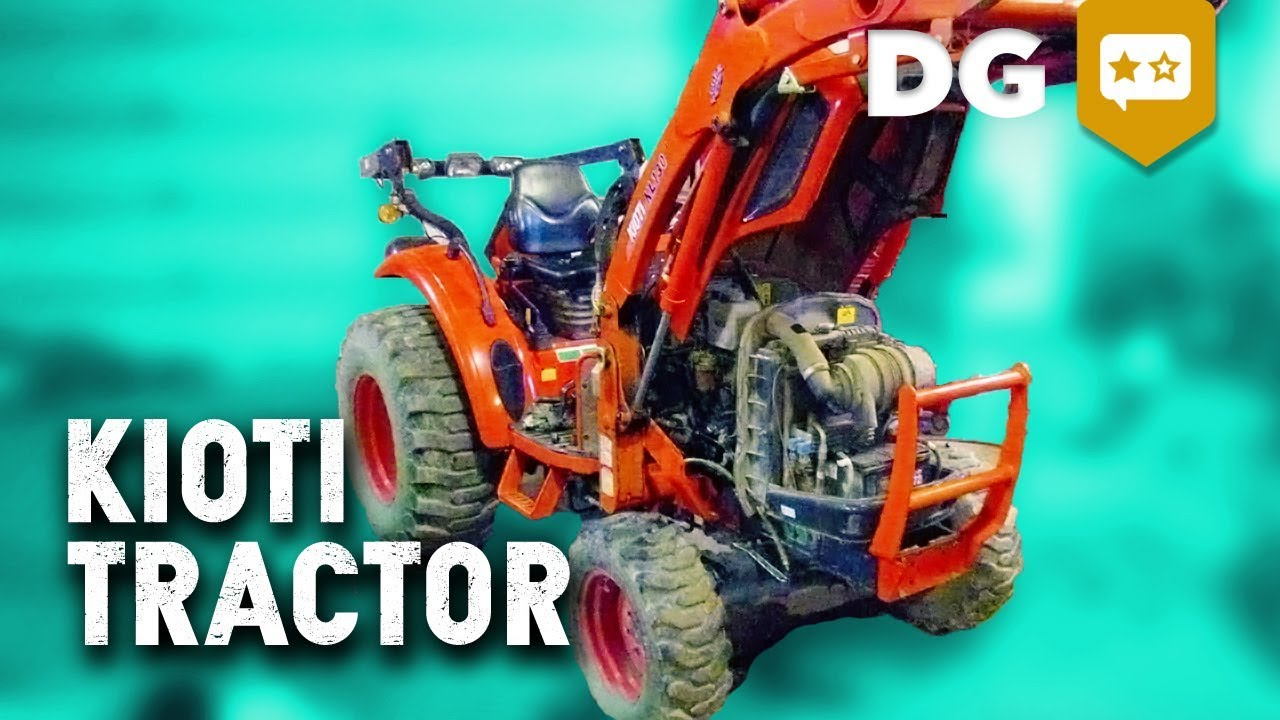 Here's Why the Kioti CK35 Compact Tractor Is The Ultimate Oversized Lawnmower