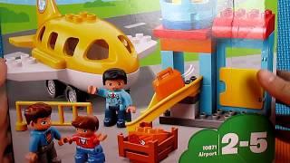 Лего Дупло 10871 Аэропорт Распаковка/LEGO DUPLO 10871 Airport Unboxing