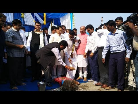 Gadkari lays foundation stone of Mumbai International Cruise Terminal