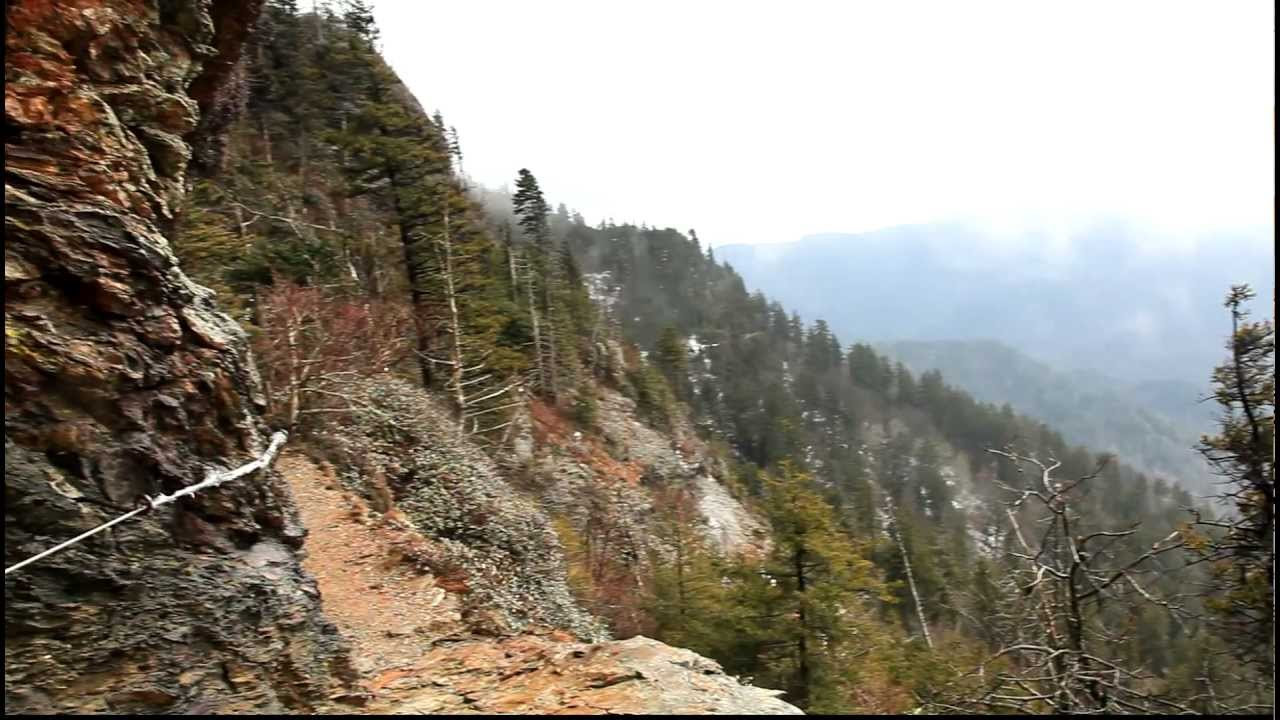Mt. LeConte - Alum Cave Bluff Trail - YouTube