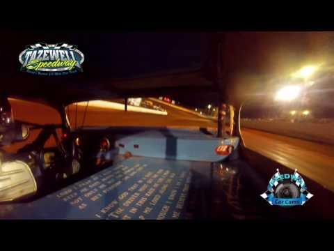 #7 John Stevens - Winner Classic 2nd Feature - 5-28-17 Tazewell Speedway - In-Car Camera
