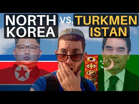 NORTH KOREA vs. TURKMENISTAN (are they the same?)