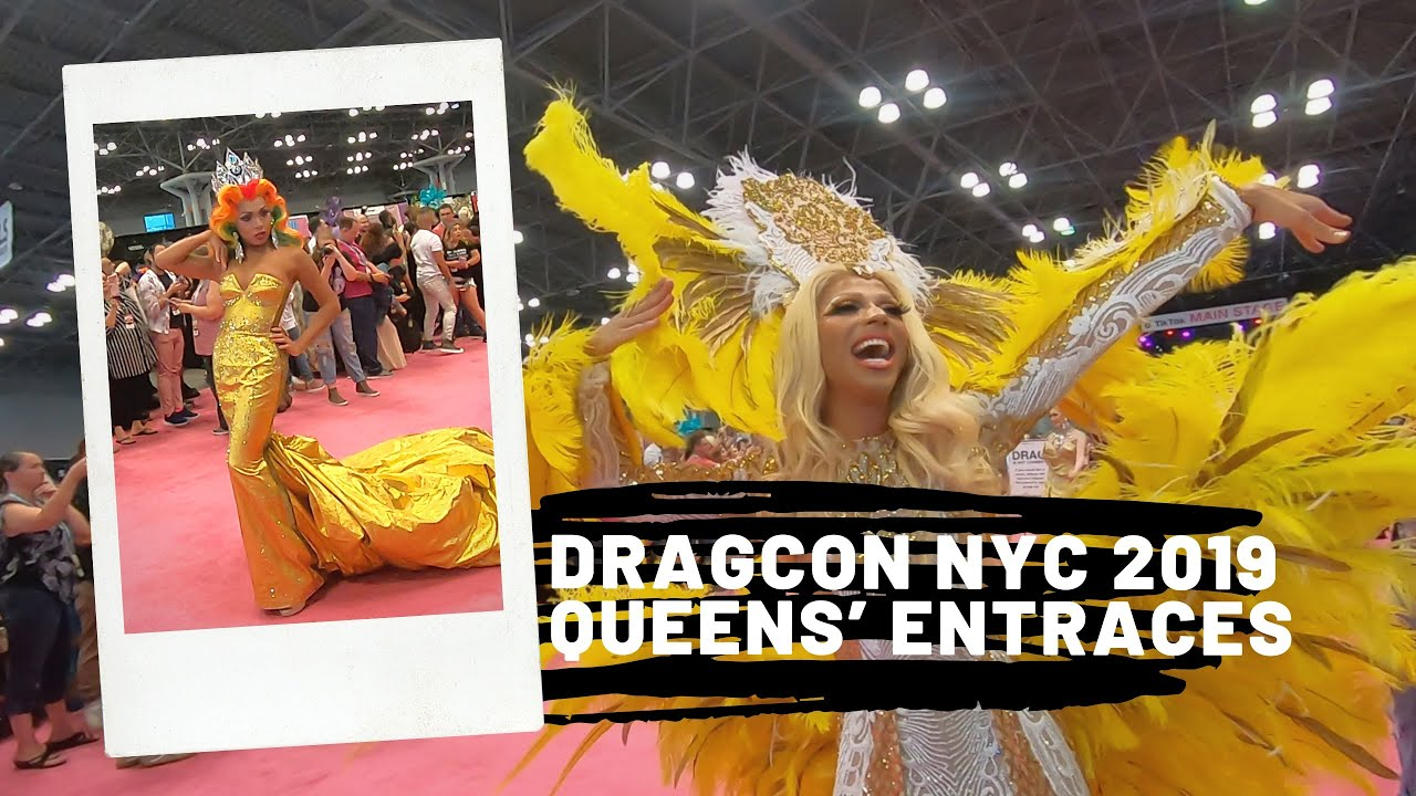 Download Queens' Entrances to RuPaul's DragCon NYC 2019