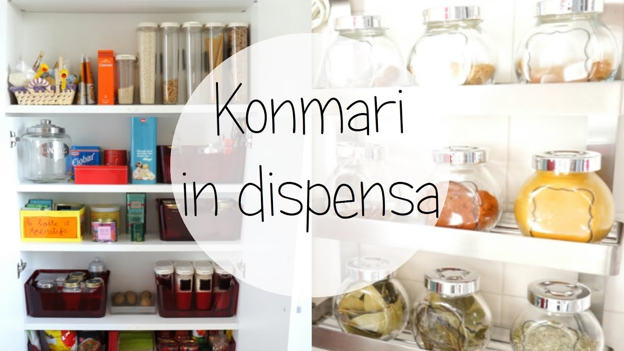 Konmari in dispensa youtube - Metodo kondo cucina ...