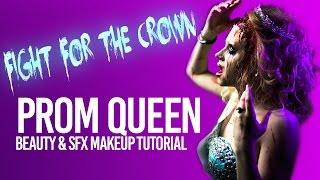 prom queen beauty fx makeup tutorial