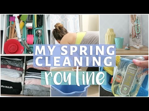 MY SPRING CLEANING ROUTINE 2017 | CLEAN WITH ME