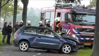 Ernstig verkeersongeval  Hazelarenstraat  Koewacht  ZEELAND