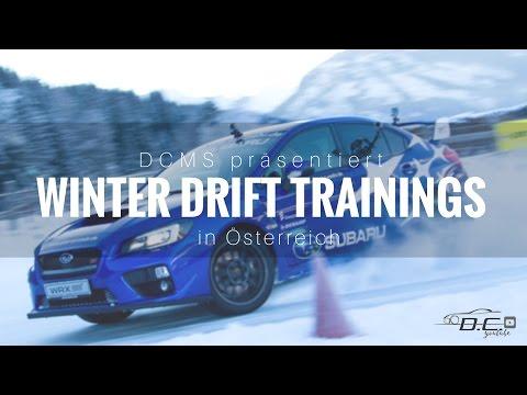 DCMS Subaru Winterdrift-Trainings mit Werner Gusenbauer