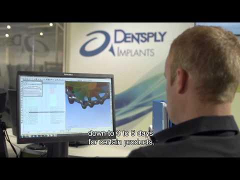 Factory of the future DENTSPLY Implants Belgium