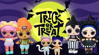 LOL Surprise Dolls Go Trick Or Treat Halloween Haunted House