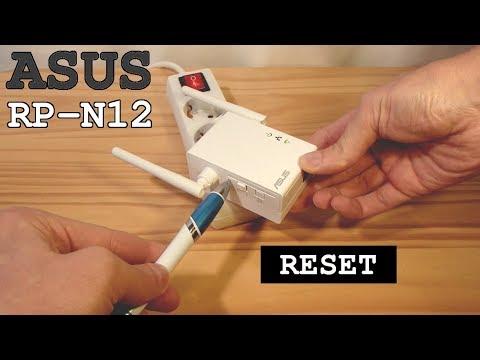 ASUS Wi-Fi Extender RP-N12 • Factory Reset