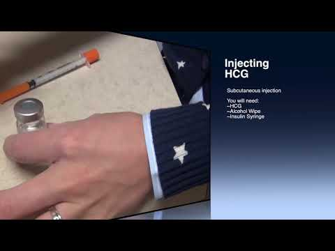 How To Inject HCG Or Human Chorionic Gonadotropin By HCG Diet Miami & HCG Near Me. Injecting HCG.