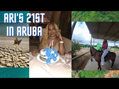 LifeofArie|| Ep 2. Vlog of My Trip to Aruba for My 21st!!