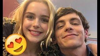 Ross Lynch & Kiernan Shipka 😍😍😍- CUTE AND FUNNY MOMENTS (Chilling Adventures of Sabrina 2018)