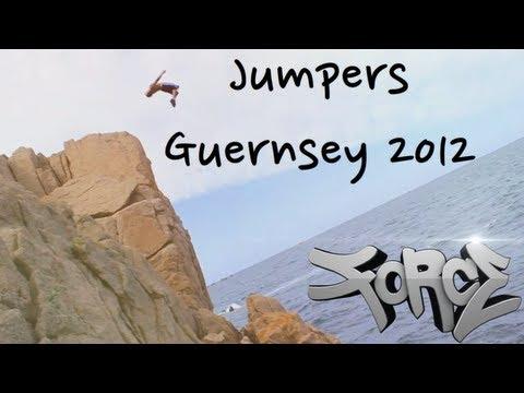 Cliff Jumping - Guernsey
