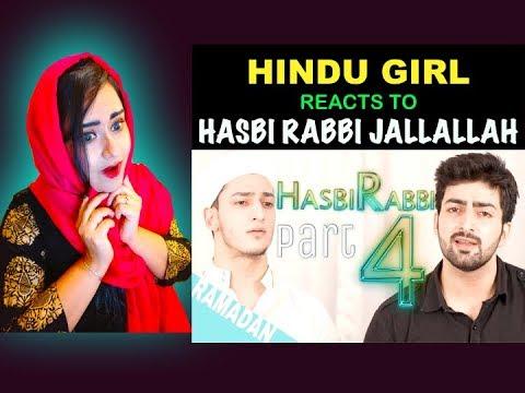 Hindu Girl Reacts To HASBI RABBI JALLALLAH PART 4 | RAMZAN NAAT |Danish F Dar|Dawar Farooq|REACTION|