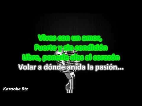 (Karaoke) La Pasión -Sarah Brightman & Fernando Lima [HD]