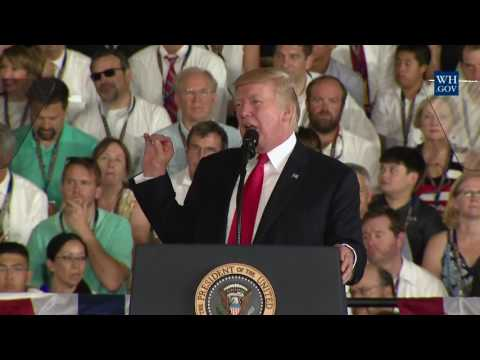President Trump Participates in the Commissioning Ceremony for the Gerald R. Ford (CVN-78)