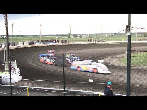 Sycamore Speedway Super late (heat race #1) 6-25-17